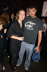 Actress JULIA STILES and JONATHAN CRAMER at a party hosted by Dom Perignon at Sketch, Conduit Street, London on 18th October 2006.<br />