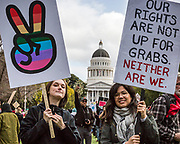 Women's March, Sacramento, California, January 21, 2017.