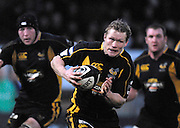 Wycombe, GREAT BRITAIN, Wasps, Josh LEWSEY, start's his try scoring run, during the Guinness Premiership Game, London Wasps vs Leeds Carnegie, at Adams Park. 05/01/2008  [Mandatory credit Peter Spurrier/ Intersport Images].