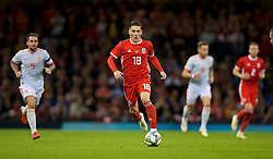 CARDIFF, WALES - Thursday, October 11, 2018: Wales' Harry Wilson during the International Friendly match between Wales and Spain at the Principality Stadium. (Pic by Laura Malkin/Propaganda)
