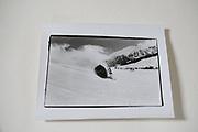 Mike Fitzroy,  Lord Xan Rufus Isaacs and Graham Chapman in the crashing Gondola.  St. Moritz. 1985