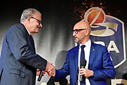 Sacchetti Romeo, Vitucci Francesco<br /> LBA AWORDS 2018/19<br /> Basket Serie A LBA 2018/2019<br /> Premiazioni Sala Buzzati - Rcs<br /> Milano 13 May 2019<br /> Foto Mattia Ozbot / Ciamillo-Castoria