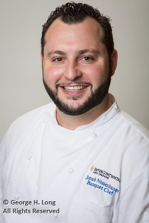 Jonah Nissenbaum; InterContinental New Orleans Hotel Banquet Chef