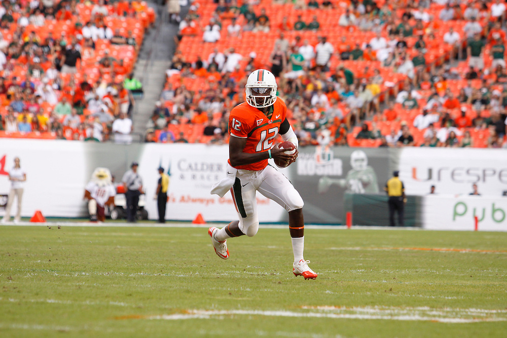 2011 Miami Hurricanes Football vs Boston College