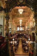 Interior of the Cafe New York, Budapest, Hungary