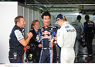 *** Local Caption *** webber (mark) - (aus) -..hulkenberg (nico) - (ger) -