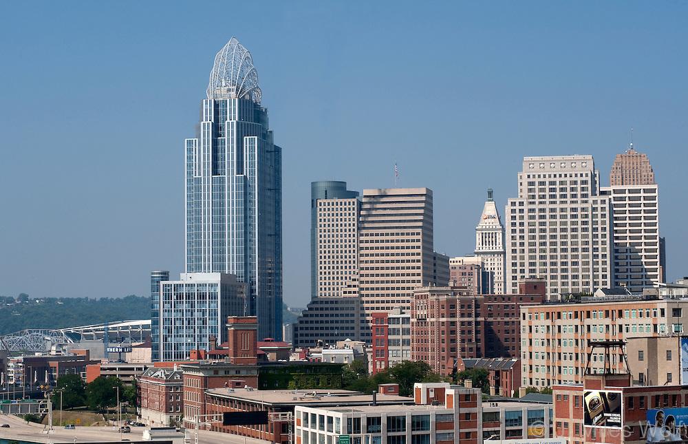 Cincinnati Skyline and Great American Tower