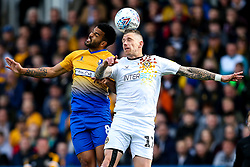 Jacob Mellis of Mansfield Town challenges Scot Bennett of Newport County - Mandatory by-line: Robbie Stephenson/JMP - 12/05/2019 - FOOTBALL - One Call Stadium - Mansfield, England - Mansfield Town v Newport County - Sky Bet League Two Play-Off Semi-Final 2nd Leg