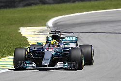 November 12, 2017 - Sao Paulo, Brazil - Motorsports: FIA Formula One World Championship 2017, Grand Prix of Brazil, .#44 Lewis Hamilton (GBR, Mercedes AMG Petronas F1 Team) (Credit Image: © Hoch Zwei via ZUMA Wire)