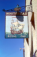 Pub Signs, The Royal Oak, Shoreham, Kent, Britain