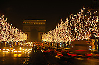 Champs Elysees at Christmas