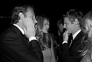 DAMIAN ASPINALL; ELLE MACPHERSON; ZAC GOLDSMITH. The Ormeley dinner in aid of the Ecology Trust and the Aspinall Foundation. Ormeley Lodge. Richmond. London. 29 April 2009