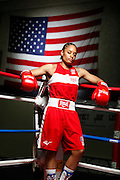 6/24/11 2:33:02 PM -- Colorado Springs, CO. -- A portrait of U.S. Olympic lightweight boxer Queen Underwood, 27, of Seattle, Wash. who will be competing for her fifth title. She began boxing in 2003 and was the 2009 Continental Champion and the 2010 USA Boxing National Champion. She is considered a likely favorite to medal at the 2012 Summer Olympics in London as women's boxing makes its debut as an Olympic sport. -- ...Photo by Marc Piscotty, Freelance.