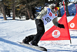 World Cup Banked Slalom, OSHAROV Ivan, UKR at the 2016 IPC Snowboard Europa Cup Finals and World Cup