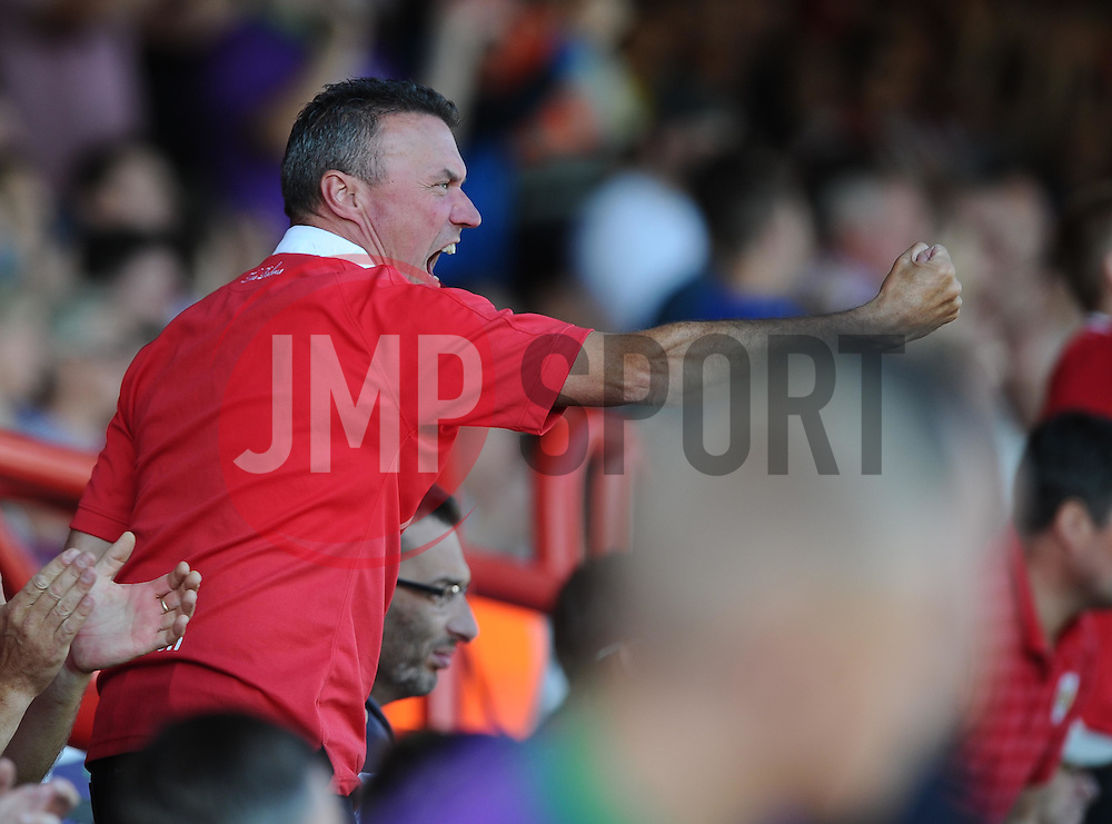 Fans  - Mandatory byline: Joe Meredith/JMP - 07966386802 - 15/08/2015 - FOOTBALL - Ashton Gate -Bristol,England - Bristol City v Brentford - Sky Bet Championship