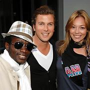 NLD/Amsterdam/20070606 - Opening vernieuwde club Cineac van DJ Tiesto, Regillio Tuur, Winston Gerstanowitz en partner Renate Verbaan