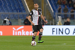 May 12, 2019 - Rome, Italy - Giorgio Chiellini during the Italian Serie A football match between A.S. Roma and Juventus at the Olympic Stadium in Rome, on may 12, 2019. (Credit Image: © Silvia Lore/NurPhoto via ZUMA Press)