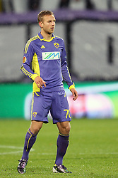 Ales Mertelj of NK Maribor at 3th round of European Leauge football match between Nk Maribor and Nk Braga, November 20, 2011, in Maribor, Slovenia (Photo by Urban Urbanc / Sportida ) .