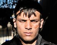 Afghanistan - 25 dicembre 2012. Mohammad, 21 anni, interprete. Dipolmato presso il liceo di Kabul..Ph. Roberto Salomone Ag. Controluce.Afghanistan - Mohammad, 21, interpreter. Earned a degree at Kabul highschool.