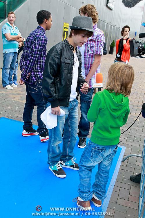 NLD/Amsterdam/20110731 - Premiere film De Smurfen, Ralf Mackenbach