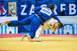 TRSTENJAK Tina of Slovenia and DEKETER Manon of France compete in the elimination round on July 27, 2019 at the IJF World Tour, Zagreb Grand Prix 2019, in Dom Sportova, Zagreb, Croatia. Photo by SPS / Sportida
