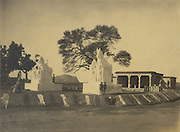 Hindu shrine in South India.<br /> Skeen & Co. Photographs of the historical sites of India.