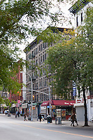 street scene Cleveland and Kenmare in New York City October 2008