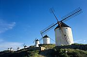 Consuegra, La Mancha, Spain.windmills