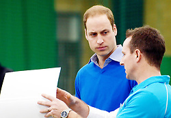 © Licensed to London News Pictures. 04/12/2013, UK. The Duke of Cambridge, as Patron of The Royal Foundation of The Duke and Duchess of Cambridge and Prince Harry, visits a Coach Core apprentice training session at Westway Sports Centre in London today 4th Decemebr 2013.. Photo credit : See Li/Piqtured/LNP
