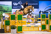Roger Yves Bost - Sangria du Coty<br /> Jumping Indoor Maastricht 2017<br /> © DigiShots