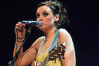 Amy Macdonald at the Football Extravaganza celebrating 20 years of the Premier League, in aid of Nordoff Robbins..Wednesday, April.11, 2012 (Photo/John Marshall JME)
