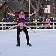 Lauren Farr & Neill Shelton perform with Ice Dance International at Strawbery Banke, Portsmouth NH on Jan 14, 2017