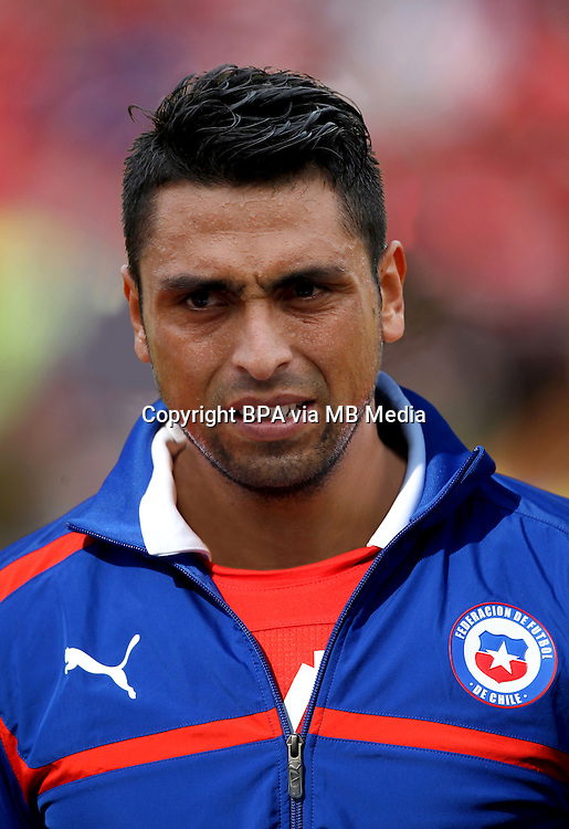 Football Fifa Brazil 2014 World Cup / <br /> Chile National Team - <br /> Gonzalo Jara of Chile