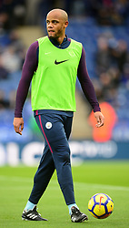 Vincent Kompany of Manchester City - Mandatory by-line: Alex James/JMP - 18/11/2017 - FOOTBALL - King Power Stadium - Leicester, England - Leicester City v Manchester City - Premier League