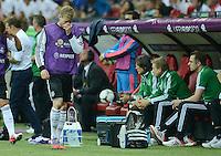 FUSSBALL  EUROPAMEISTERSCHAFT 2012   HALBFINALE Deutschland - Italien              28.06.2012 Andre Schuerrle (Deutschland) enttaeuscht