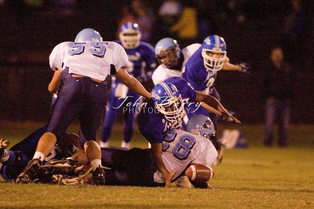MCHS Varsity Football .Homecoming .vs Page .September 29, 2006