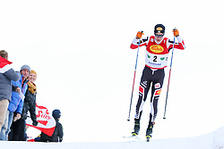 17.12.2016, Nordische Arena, Ramsau, AUT, FIS Weltcup Nordische Kombination, Langlauf, im Bild Mario Seidl (AUT) // Mario Seidl of Austria during Cross Country Competition of FIS Nordic Combined World Cup, at the Nordic Arena in Ramsau, Austria on 2016/12/17. EXPA Pictures © 2016, PhotoCredit: EXPA/ Martin Huber