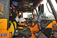 "19. Rallye Breslau 2012.#224 - ""Flying Dutchman"", cockpit view and navigators work place.© Robert W. Kranz / Rallyewerk"