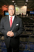 "Dr. Ben Chavis at the Hip-Hop Summit's ""Get Your Money Right"" Financial Empowerment International Tour draws hip-hop stars and financial experts to teach young people about financial literacy held at The Johnson C. Smith University's Brayboy Gymnasium on April 26, 2008..For the past three years, hip-hop stars have come out around the country to give back to their communities. Sharing personal stories about the mistakes they've made with their own finances along the way, and emphasizing the difference between the bling fantasy of videos and the realities of life, has helped young people learn the importance of financial responsibility while they're still young. With the recent housing market crash in the United States affecting the economy, jobs, student loans and consumer confidence, young people are eager to receive sound financial advice on how to best manage their money and navigate through this volatile economic environment.."