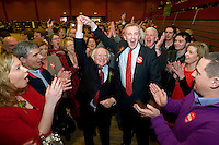 Young newly elected Labour TD Derek Nolan who won the 2nd seat replacing Michael D Higgins as Labour TD in  Galway West . Photo:Andrew Downes