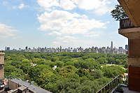 View from Central Park South