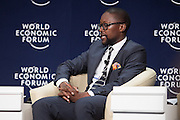 Mandla Sibeko, Chairman, Mineonline Africa, South Africa; Young Global Leader at the World Economic Forum on Africa 2015 in Cape Town. Copyright by World Economic Forum / Greg Beadle
