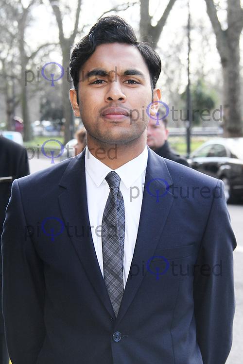 Himesh Patel, TRIC Awards, Grosvenor House Hotel, London UK, 12 March 2013, (Photo by Richard Goldschmidt)