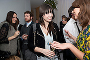 DAISY LOWE, English National Ballet's party before performance of the ' The Nutcracker. St. Martin's Lane Hotel. London 14 December 2011.
