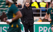 Twickenham, United Kingdom. Australian Head Coach, Michael CHEIKA during  the pre game session of the  Old Mutual Wealth Series Match: England vs Australia, at the RFU Stadium, Twickenham, England, <br /> <br /> Saturday  03/12/2016<br /> <br /> [Mandatory Credit; Peter Spurrier/Intersport-images]