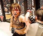 April 3, 2008; Los Angeles, CA - Fatal Femmes Fighting 4: the Call of the Wild at the Shrine Auditorium...Photo credit: Darrell Miho