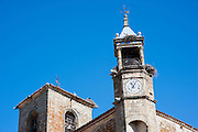 Clock tower in Trujillo (Spain)