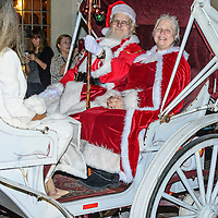 Hotel Galvez Tree Lighting and Santa arrival