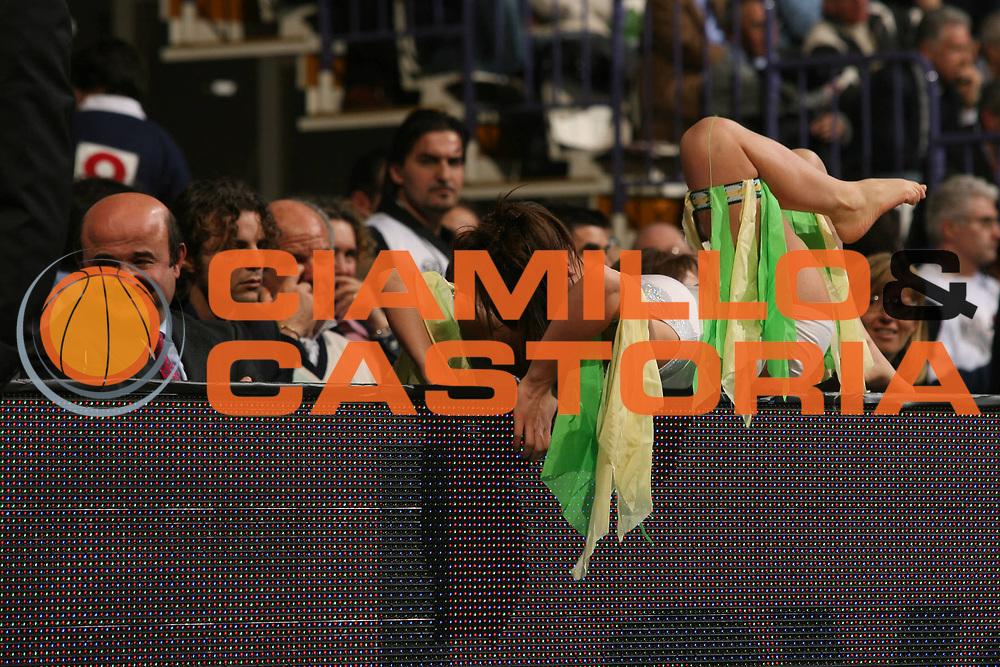 DESCRIZIONE : Bologna Coppa Italia 2006-07 Semifinale Vidivici Virtus Bologna Armani Jeans Milano<br /> GIOCATORE : Corbelli Cheerleaders<br /> SQUADRA : Armani Jeans Milano<br /> EVENTO : Campionato Lega A1 2006-2007 Tim Cup Final Eight Coppa Italia Semifinale <br /> GARA : Vidivici Virtus Bologna Armani Jeans Milano<br /> DATA : 10/02/2007 <br /> CATEGORIA : Curiosita<br /> SPORT : Pallacanestro <br /> AUTORE : Agenzia Ciamillo-Castoria/M.Marchi