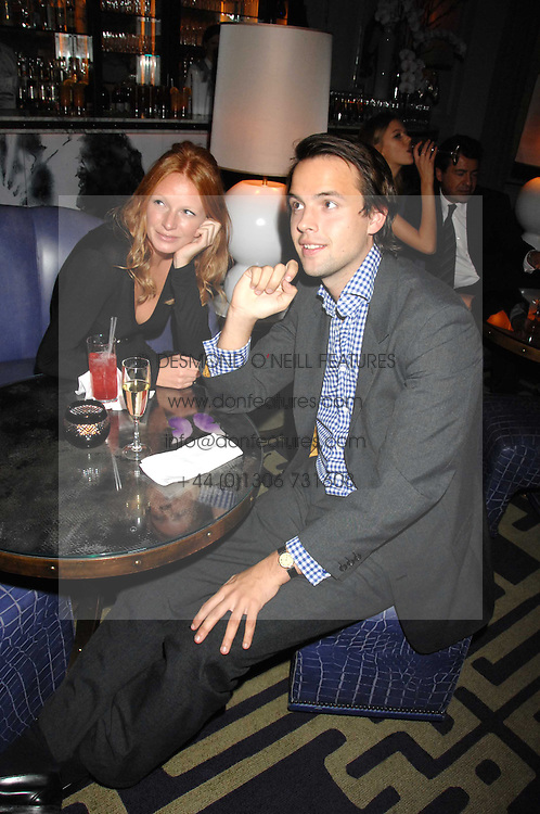 CHARLIE GILKES and OLIVIA INGE at a party to promote The Landau at The Langham, Portland Place, London W1 on 7th February 2008.<br /><br />NON EXCLUSIVE - WORLD RIGHTS